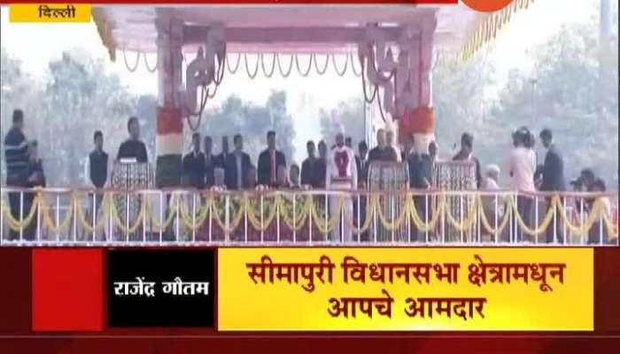 AAP Leaders Take Oath As Minister For Delhi Legislative Assembly