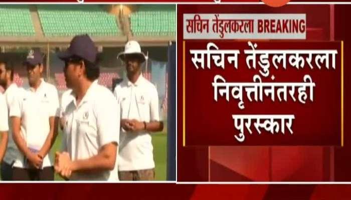 Master Blaster Sachin Tendulkar Wins Laureus Sporting Moment Award