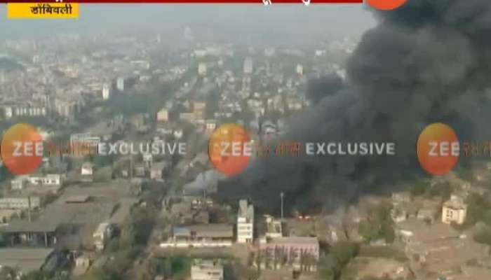 Dombivali MIDC Fire At Metropolitan Chemical Factory Under Control