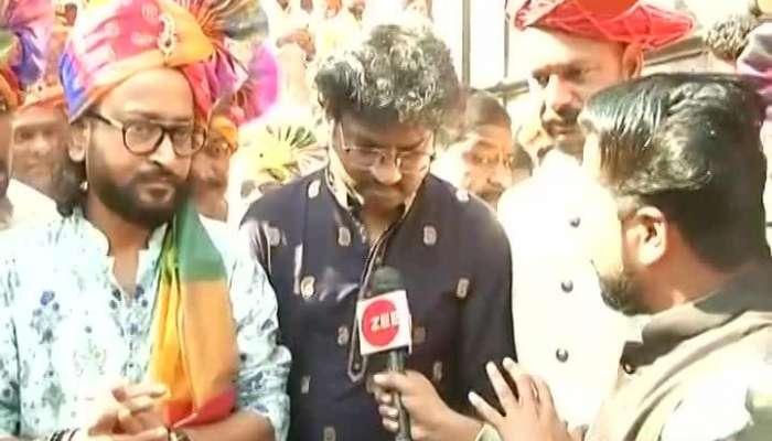 Pune Music Director Ajay Atul At Shiv Jayanti Celebration