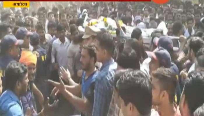 Akola Attack On Prahar Sangahtana Tushar Pundkar