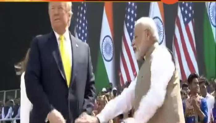 Rajendra Abhyankar And Dilip Mahske In Discussion For US President Visit India