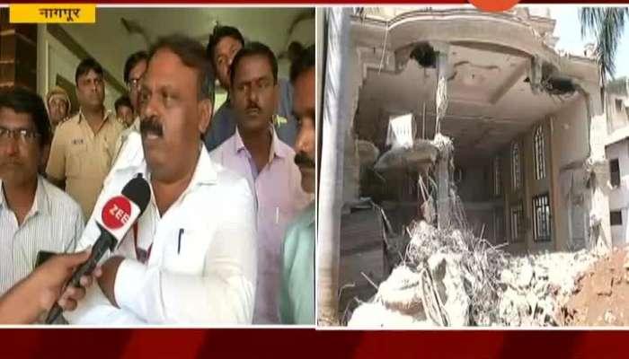 Nagpur Mahapalika On Demolishing Gangster Santosh Ambekar Bunglow