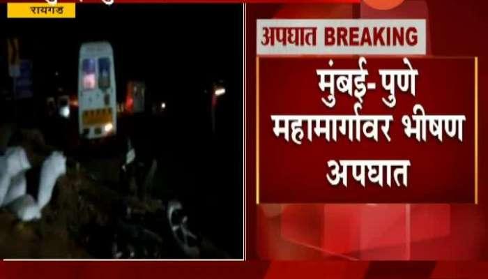 Raigad Truck Accident, 5 death