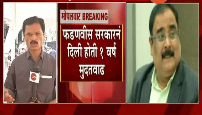 Controversial IAS Officer Radheshyam Mopalwar MD Of MSRDC Given Extension Of Three Months