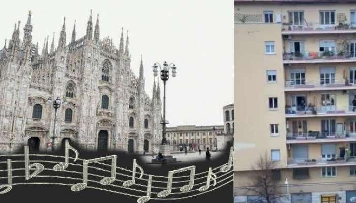 पाहा, कोरोनाच्या दहशतीत इटलीमध्ये असा सुरु आहे जगण्याचा 'सुरेल' संघर्ष