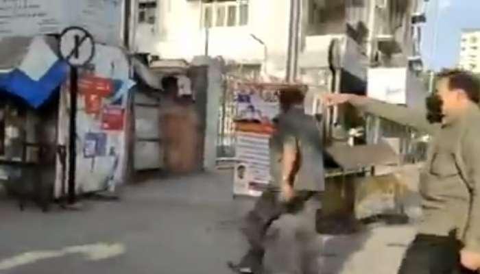 गृहमंत्री रस्त्यावर, कायद्याचं उल्लंघन करणाऱ्यांवर कारवाईचे आदेश