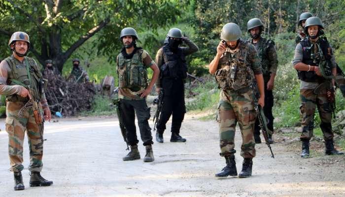 जम्मू काश्मीरमध्ये सुरक्षा जवानांकडून ३ दहशतवादी ठार, सर्च ऑपरेशन सुरु