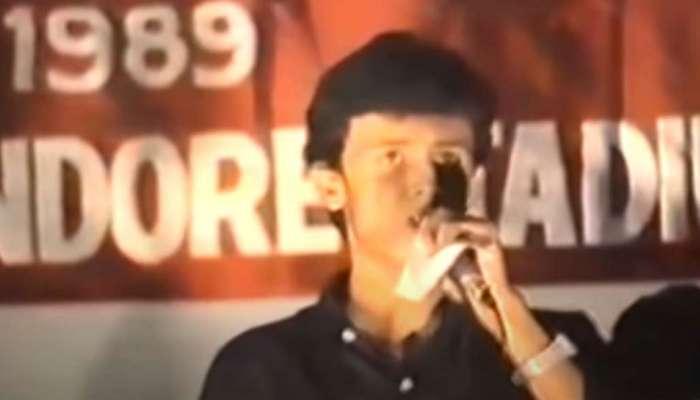 सोनू निगमचा ३१ वर्षांपूर्वीचा व्हिडिओ व्हायरल, गायलंय 'महाभारत' टायटल ट्रॅक