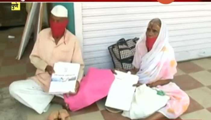 Pune Senior Citizen Couple  Stranded