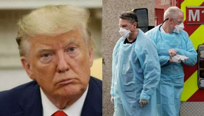 अमेरिकेत गेल्या 24 तासात 1500 कोरोना रुग्णांचा मृत्यू