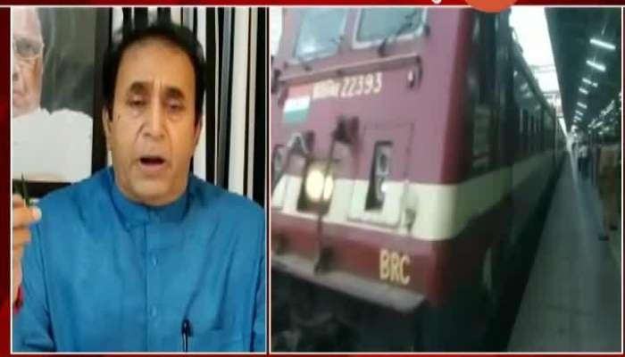 Nagpur HM Anil Deshmukh Critics On Railway Minister Piyush Goyal