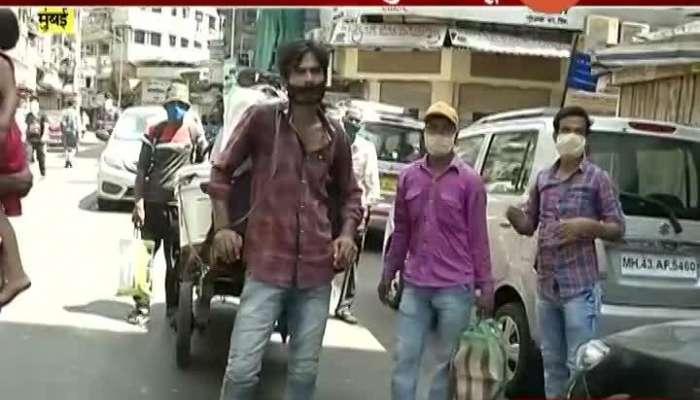 Mumbai,Zaveri Bazar Bengal Migrant Worker Charge Highly Bus Ticket