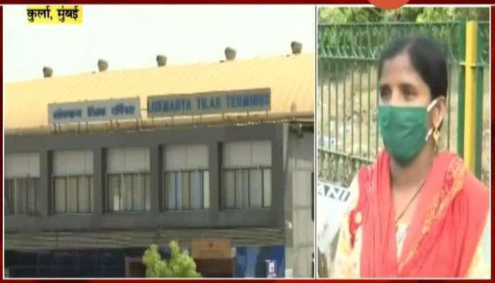 Mumbai,Kurla Migrant Labour Outside Railway Station Update