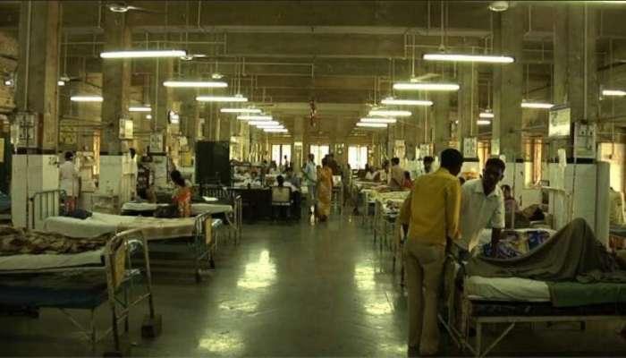 केईएम रूग्णालयाच्या कोवीड अतिदक्षता विभागातील नर्स, वॉर्डबॉय तासोनतास गायब