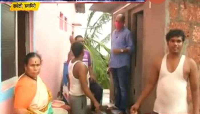 Ratnagiri Dapoli Family Completely Locked Themself In Bathroom In Nisarga Cyclone
