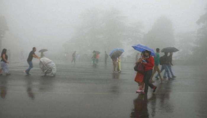 चक्रीवादळानंतर आता मुंबई आणि उपनगरात जोरदार पाऊस