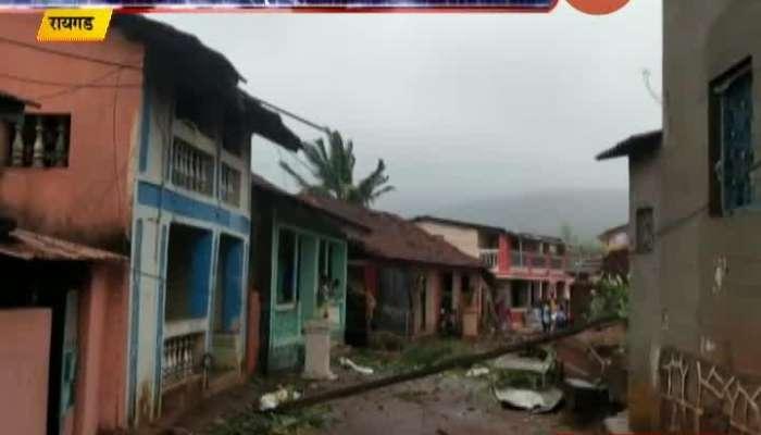 Raigad Nisarga Cyclone Affect On District