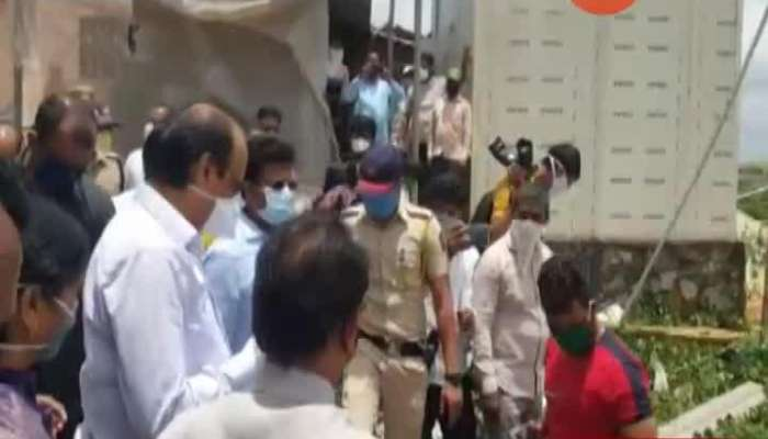 DCM Ajit Pawar Visit Maval For Damage Caused From Nisarga Cyclone Disaster