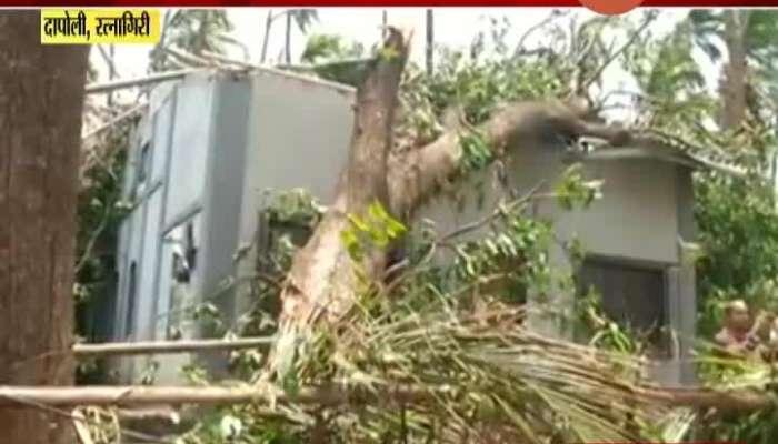 Ratnagiri,Dapoli Nisarga Cyclone Affected People Demand For To Clear The Road
