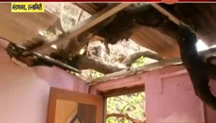 Ratnagiri,Madangad Nisarga Cyclone Impact On Villages