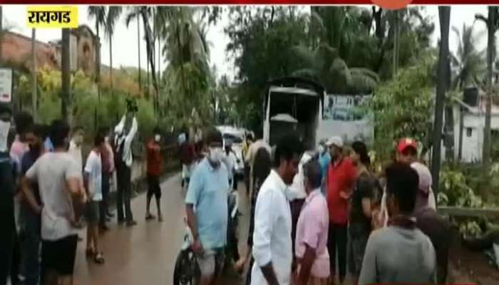 Six Member Team From Centre Visit Raigad To Access Damage Caused From Nisarga Cyclone