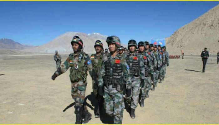 भारतीय सैन्यानं पुन्हा एलएसी ओलांडली, चीनचा कांगावा