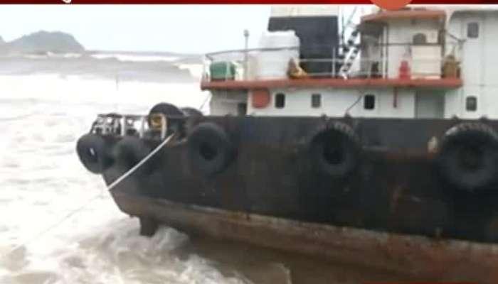 Ratnagiri Ship Stuck In Nisarga Cyclone Not Not Removed