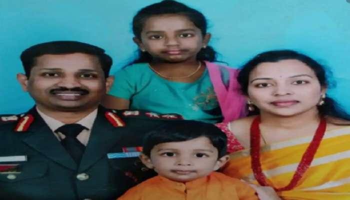 शहीद कर्नल बाबुंची पत्नी बनली डेप्युटी कलेक्टर, मुख्यमंत्री घरी जाऊन देणार ५ कोटींचा चेक