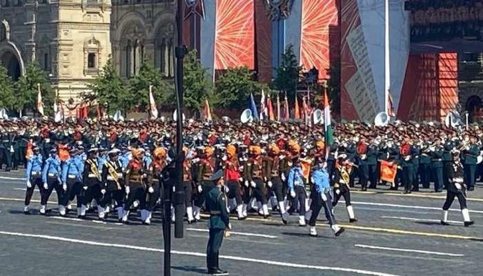 रशियाच्या विजय दिनाच्या परेडमध्ये भारतीय सैन्याचा सहभाग