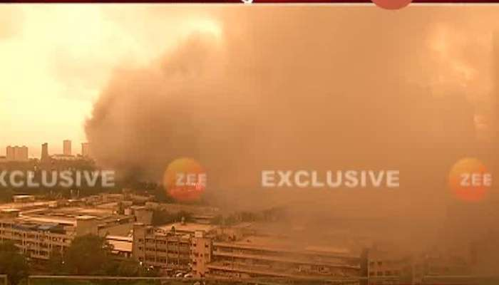 Mumbai Fire Breaks Out At Raghuvanshi Mill P2 Building Update.