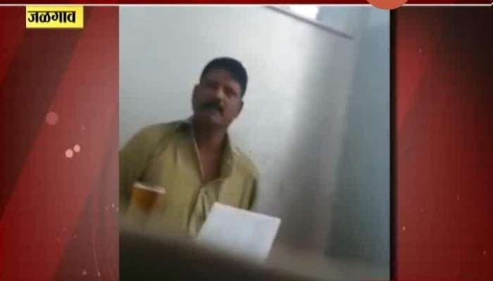 Jalgaon Guardian Minister Gulabrao Patil On Excise Inspector Dahivade Who Drink Liquor On Duty