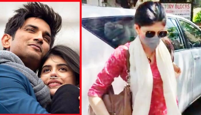 Sushant Suicide Case: 'दिल बेचरा' फेम अभिनेत्रीची पोलिसांकडून चौकशी