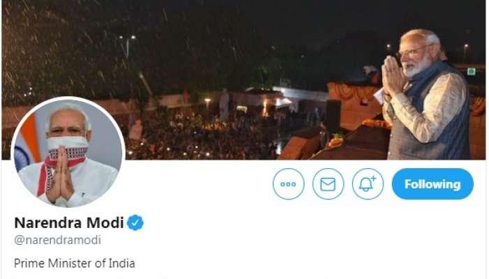 ट्विटरवर पंतप्रधान मोदींच्या फॉलोअर्सची संख्या ६ कोटींवर