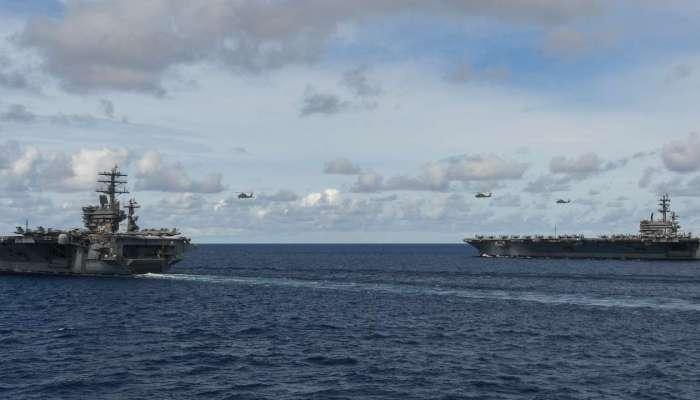 ....म्हणून भारतात दाखल होतेय अमेरिकेची सुपरकॅरियर युद्धनौका