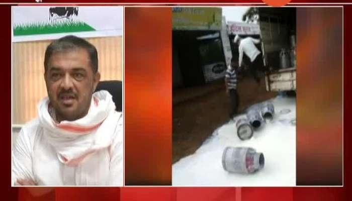 Cabinet Minister Sunil Kedar Will Take Meeting On Milk Rate At Mantralaya