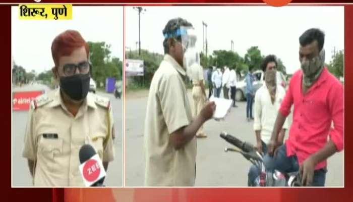 Corona_s Concern In Rural Pune,Shirur