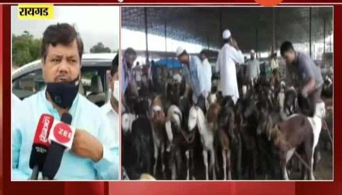 Raigad BJP Leader Pravin Darekar Taunted Sharad Pawar On Bakri Eid