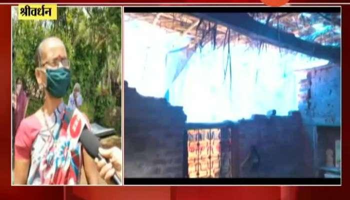 Shrivardhan No Electricity No Ration After Destruction By Nisarga Cyclone