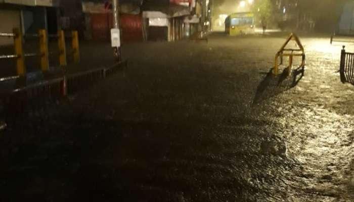 कोकणसह मुंबईत रात्रीपासून मुसळधार पाऊस, दुपारी हाय टाईडचा इशारा; रेड अलर्ट जारी