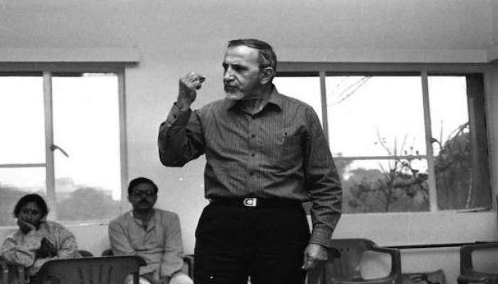 कलाविश्वाचा भक्कम पाया हरपला; इब्राहिम अलकाझी यांचं निधन