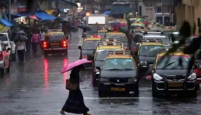 मुंबईत वाऱ्यासह तुफान पाऊस, कोकणातही मुसळधार