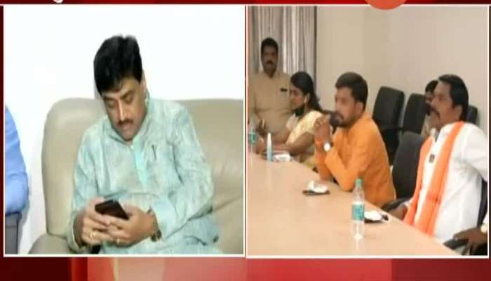 Vinayake Mete Critics On Ashok Chavan And State Government On Maratha Reseravtion Sachin Swant Phono Reaction Update