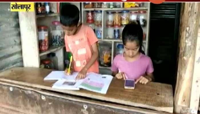 Solapur School Teaching The Poem,Table From The Temple Speaker