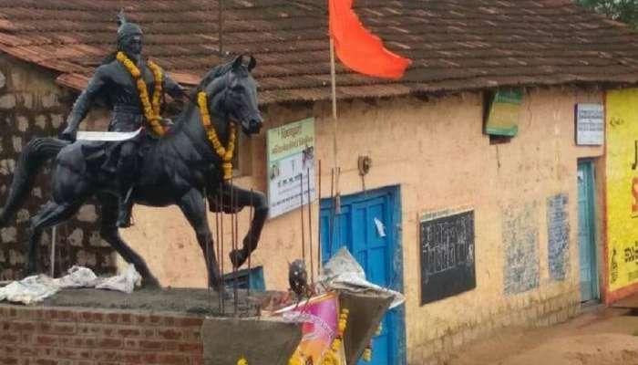 कर्नाटक सरकारने शिवाजी महाराजांचा पुतळा हटवला; शिवभक्तांमध्ये संतापाची लाट