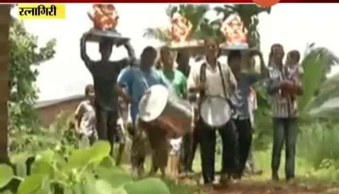 Uday Samant on Konkan Ganesh utsav