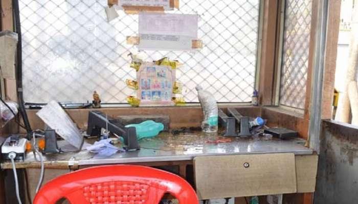 मनसेचा नवी मुंबईत राडा, MSEB कार्यालयाची तोडफोड