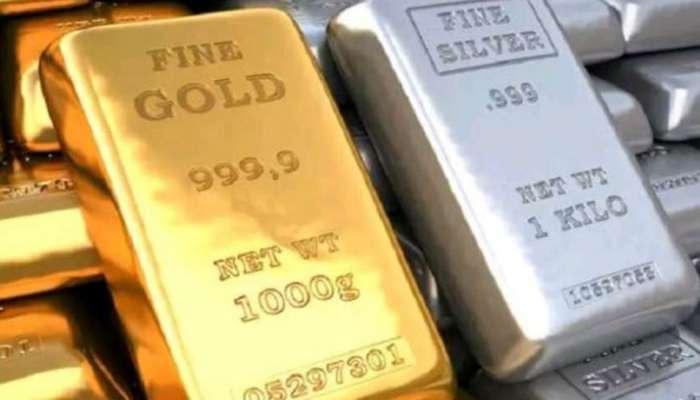 सोने आणि चांदी दरात मोठी घसरण, घसरण पुढेही सुरुच राहण्याची शक्यता