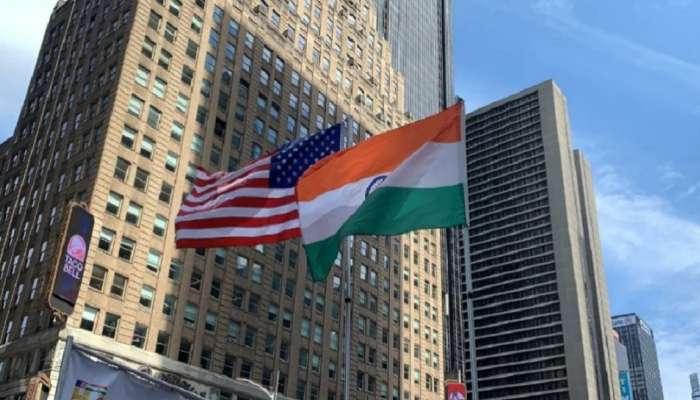 अमेरिकेतही भारतीय स्वातंत्र्यदिनाची धूम; टाईम्स स्क्वेअरवर फडकला तिरंगा
