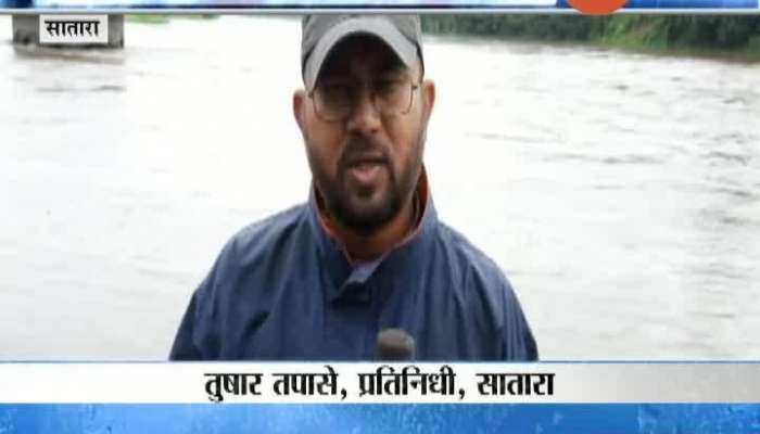Satara All Dam 90 Percent Full